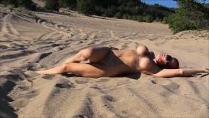 Audrey in the Dunes
