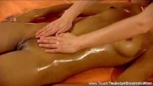 MILF Brunette Offers a Good Massage
