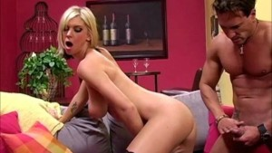 Brooke Banner Sucks and Fucks A Big Meat Pole