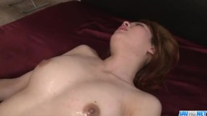 Busty Rei loves cum on her pussy after rough hardcore spectacl- XVIDEOZZ.INFO