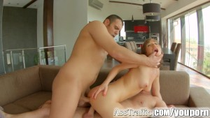 Asstraffic Tina Hot enjoys anal threesome