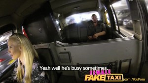 FemaleFakeTaxi Cocky fella shown who s the boss