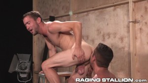RagingStallion Nick Capra Pounds BackStage