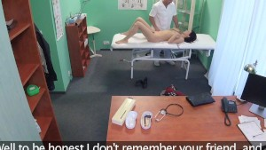 FakeHospital Cock therapy helps sensitive pussy