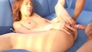 Sally Yoshino licks dong and gets it deep in licked fish taco