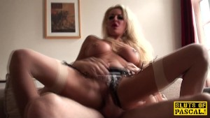 British bdsm sub pounded and dominated