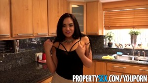 PropertySex - Familiar looking Latina real estate agent fucked by big cock