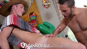ManRoyale - Twinko de Mayo fuck with Jackson Cooper & Austin Carter