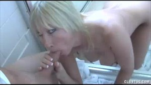 Hot Milf Jerks Off Pool Boy s Huge Cock For Good