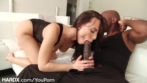 HardX Aidra Meets A Huge Black Cock