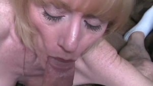 Horny Wife Swallows Cumshot