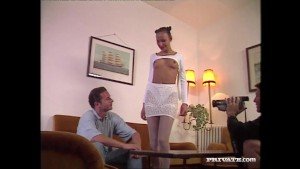 Wanda Enjoys Anal Sex With a Porn Director and his Cameraman