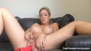 Capri Cavanni Dildos Herself