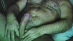 Very bear handsome masturbate cum
