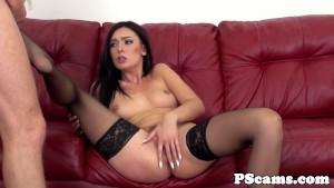 Pussyrubbing Marley Brinx fucked on webcam
