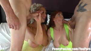 Penny Pax and Lexi Lowe s Double Penetration ORGY with ChrisStrokes&AlexLegend