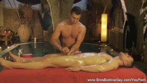 Erotic Massage And Handjob Time