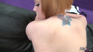 Big Titty redhead Roxy Black Rides and Sucks in POV