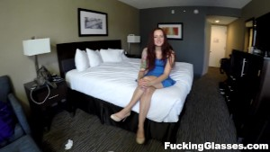 Fucking Glasses - POV sex and doggystyle cumshot