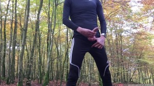 I love to go for a bike ride - pull over - and play with my penis