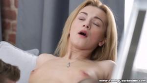 Young Courtesans - Sex date in a boudoir