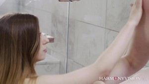 Stunning Lesbians in the shower