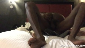 Slut cant get enough of her boyfriend s black cock