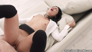 Casual Teen Sex - Casual sex and loud orgasm