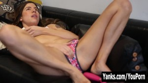 Horny Lily Fingering Her Snatch