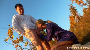 Supreme outdoor sex scenes