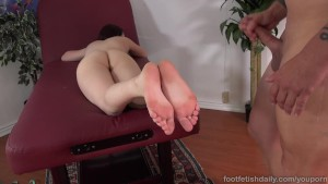Karlie Brooks Loves Red Toes Sucked Before Being Fucked