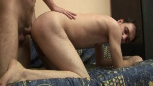 Dirty gay men Hard barebacking and anal creampie