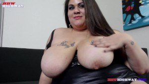 Busty Bella Live an Don orince on BBWHighway