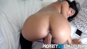 PropertySex - Super hot roommate almost kicked out for loud music