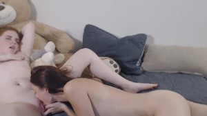 Naughty Lesbian Babes In A Hot Lesbian Sex