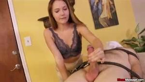 Nasty Babe Ruins Naughty Guys Orgasm Big Time