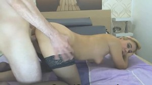 sexy babe gets penetrated in doggie position – TEATERBOKEP.COM