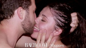 BAEB Adria Rae and James Deen intense hot tub fuck