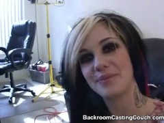 : Goth Girl interviewee ASS FUCKED