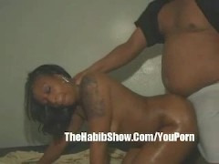 18 year old Black Booty Gets Fucked by Ex BF