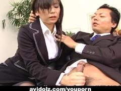 Movie:Secretary slut Satomi Maeno bl...