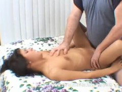 Cute Amateur Teen First Sex Video Boned & Creamed By Fat Guy