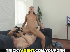 Tricky Agent - Creampied by tricky porn agent