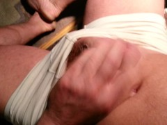 Ich befriedige mich - my cock gets from flaccid to stiff to hard, I get from horny to totally aroused