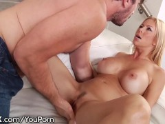 HardX Dirty MILF rides Big Cock like Champ