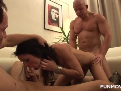 Ass Licking And Pegging Amateur Threesome
