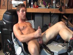 Cumming While Riding A Motorcycle - BENNY MORECOCK