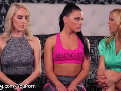 Girlsway Lesbian Couple Squirts with Dr. Fawx!