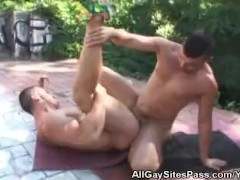 Anal Fucking In The Park Ends With Cumshots
