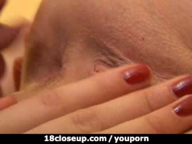 18yo slides her tongue into 3 inch wide gaping asshole 7